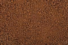 freeze dried coffee - stock photo