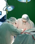 real brain surgery - stock photo