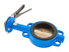 rotary disc gate - stock photo