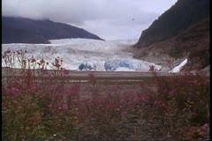 Mendenhall Glacier, Alaska, Inside Passage, Alaska Cruise Stock Footage