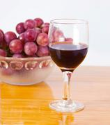wine feature - stock photo
