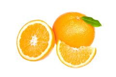 orange - stock photo