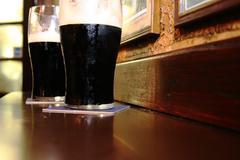 Irlantilainen stout olutta Kuvituskuvat
