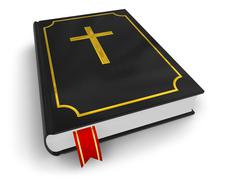 Holy Bible - stock illustration