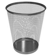 Empty recycle bin Stock Illustration