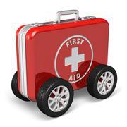 Medical assistance concept Stock Illustration