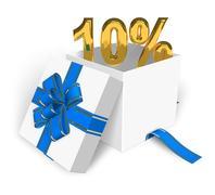 10% discount concept Stock Illustration