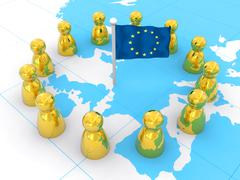 European Union - stock illustration