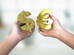 Currency choice Stock Illustration