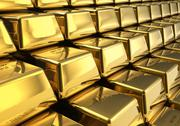 Stock Illustration of Rows of gold bars