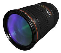 Professional zoom lens Stock Illustration