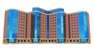 Modern tall business building Stock Illustration
