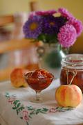 Pear and Apple Preserve Stock Photos