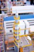 refinery production line - stock photo