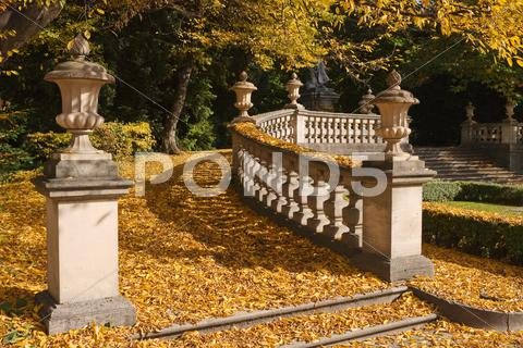 Stock photo of walkway