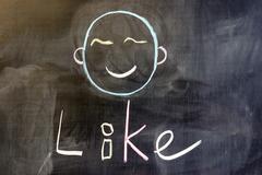 Stock Photo of i like