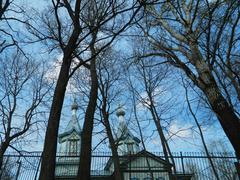 rural church - stock photo