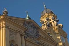 Stock Photo of theatine church, theatinerkirche