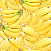 seamless pattern of yellow bananas - stock photo
