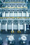thermal power plant production line - stock photo