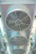 Fan, chassis cooling device Stock Photos