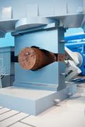 forging workshop - stock photo