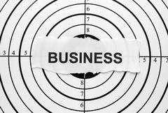 Business target Stock Photos