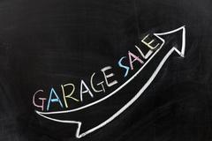 Stock Photo of garage sale