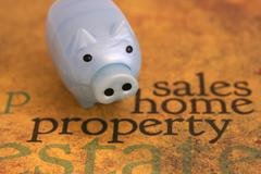 Stock Photo of sales home property concept