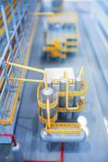Refinery production line Stock Photos