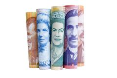 faces of new zealand currency - stock photo