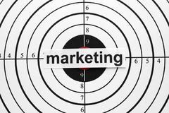 marketing target - stock photo