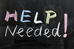 Stock Photo of help needed