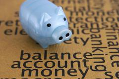 balance account money concept - stock photo