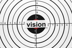vision target - stock photo