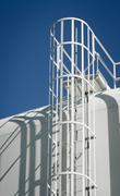 Water Storage Tank Ladder Stock Photos
