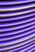 Purple Grille - stock photo