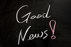 Stock Photo of good news