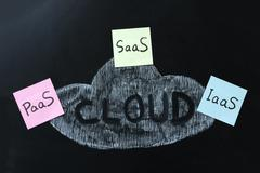 Stock Photo of cloud computing