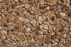 Faux Lava Rock Siding Stock Photos
