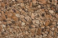 Faux Lava Rock Siding Stock Photos