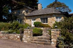 Carmel Cottage - stock photo