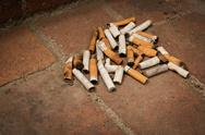 Cigarette Butts Stock Photos