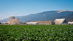 Agricultural Processing Facility - stock photo