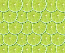 Stock Photo of limes fruit background