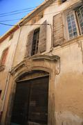 House in the provence Stock Photos