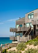 Oceanfront Townhome - stock photo