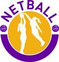 Netball player shooting blocking the shot Stock Illustration