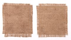 sackcloth materials - stock photo