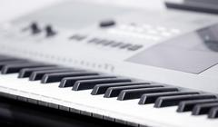 electronic music instrument - stock photo